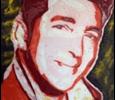 Frank Denota - Dean Martin - olio e spray su tela cm. 100x150